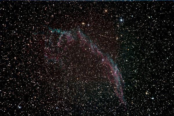 NGC 6992 Veil nebula - астрофотография