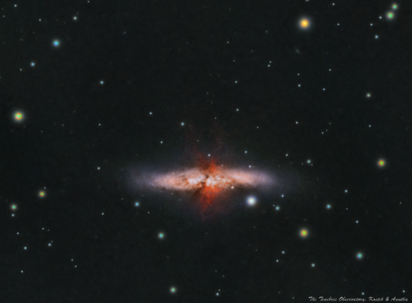 М82 - астрофотография