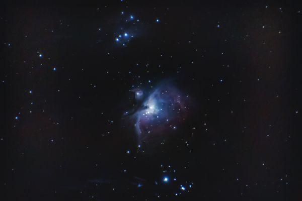 M42 Orion Nebula v3 - астрофотография