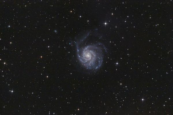 "M101 Галактика ""Вертушка"" - астрофотография"
