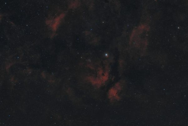IC1318 - астрофотография