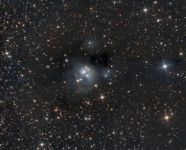 NGC 7129 - астрофотография